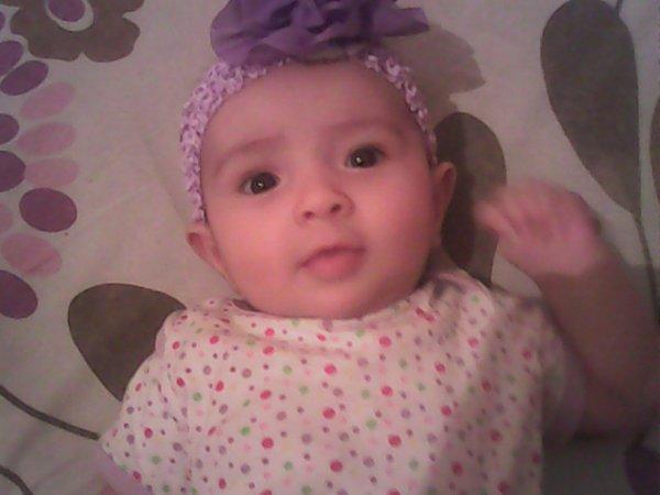 my littel cute sis