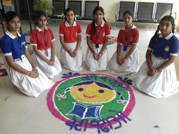 आधारशिला ने दीपावली के पर्व पर स्वच्छ भारत अभियान का संदेश दिया