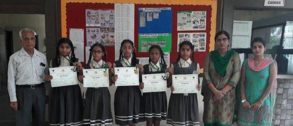 आधारशिला स्कूल ने कला प्रतियोगिता में बाजी मारी