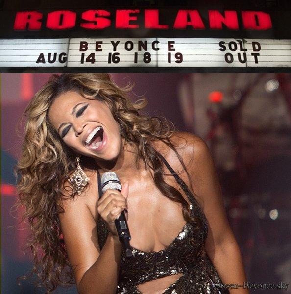 Roselad concert 14 16 18 19 aout