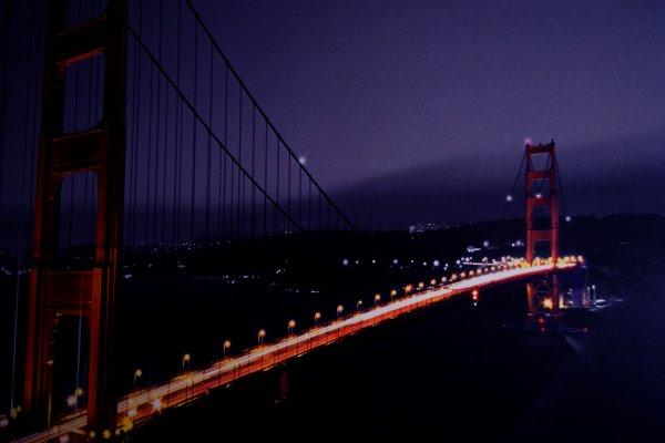 Je ne suis pas aller à San Francisco, c'est juste un taleau que j'ai légèrement retouché.