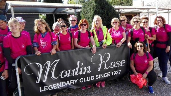 """Un défi lancé par toute l'équipe sportive """"BODYK & CO"""", une marche entre Bosc Roger en Roumois et Becquerel (environ 40km). Bravo les filles, vous êtes des championnes"""
