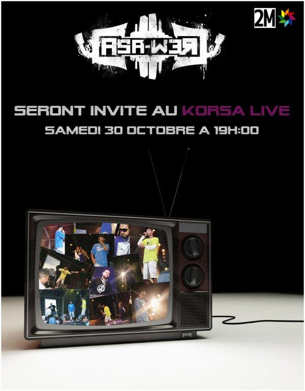 CASA CREW sur Korsa Live