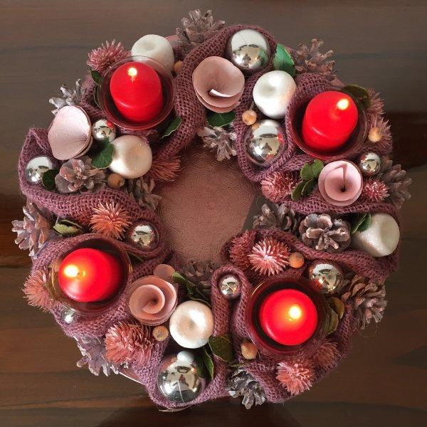 Dimanche, la quatrième bougie  de l'Avent sera allumée........  Sonntag wird die vierte Kerze des Adventskranzes angezündet…