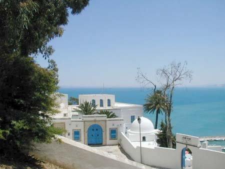 Sidi Bou Saïd en Tunisie