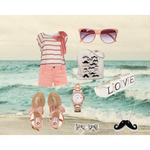 Un look pour la plage !!