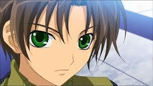 Des yeux verts