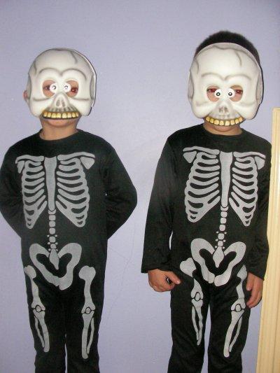 les garçons a halloween