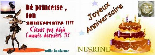 Joyeux Anniversaire Princesse Nesrine Echos De La Rubrique Algerie