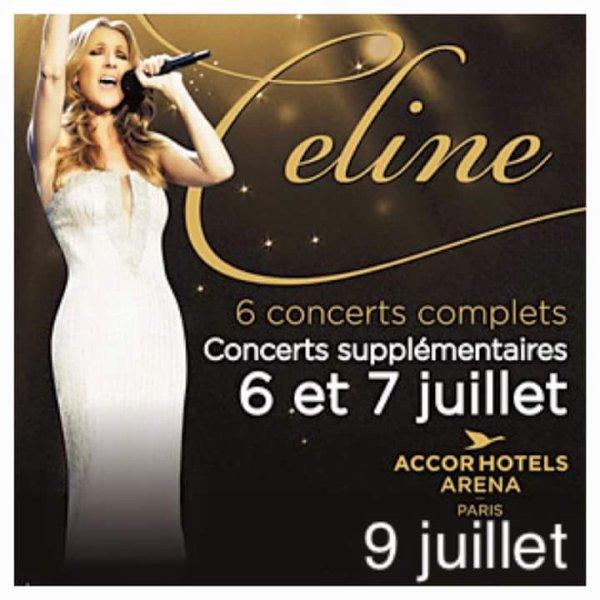 Céline en concert supplémentaire ! Réservation le 18 mai ! Selon Télé Stars