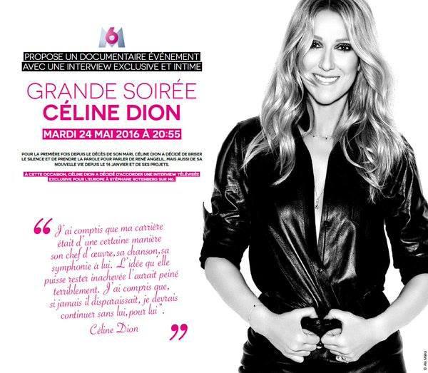 M6 Grande Soirée Céline Dion