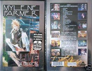 Anamorphosée version digipack et le DVD live de Bercy 96!