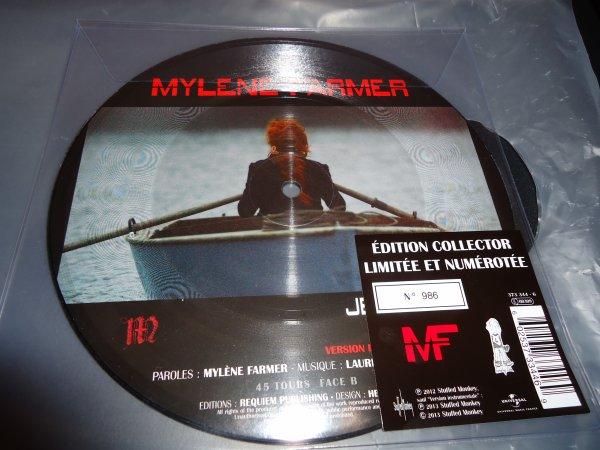 """Picture disc """"Je te dis tout"""" édition collector et numérotée."""
