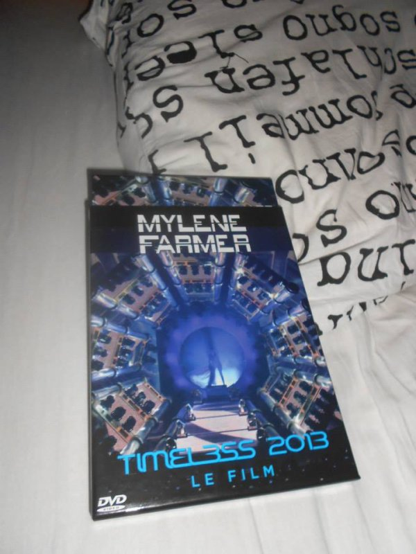 Dvd timeless 2013 et cartes 2009