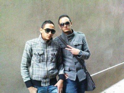 moi et djalil et salah ( mes amis)