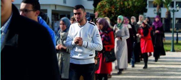 Hassan in university