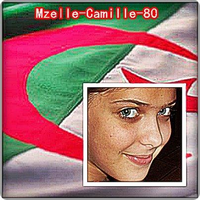 camille tu est trop belle avec le drapeau algerie lol