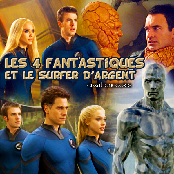 Les 4 Fantastiques et le Sufer d'Argent sortie en 2007