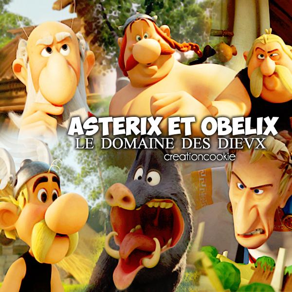 Astérix et Obelix et le domaine des dieux sortie en 2014