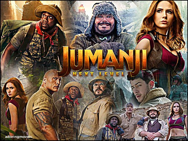 🎬 Jumanji Next Level