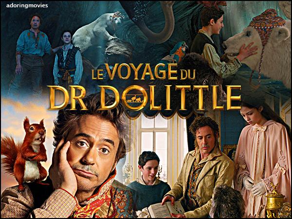 🎬  Le Voyage du Dr Dolittle