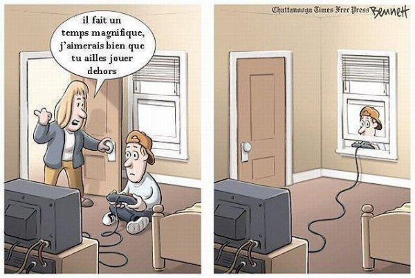aller les geek on sors prendre l'air maintenant !!! lool