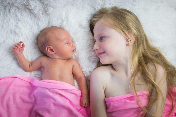 mes bébés, Halina et Meylie