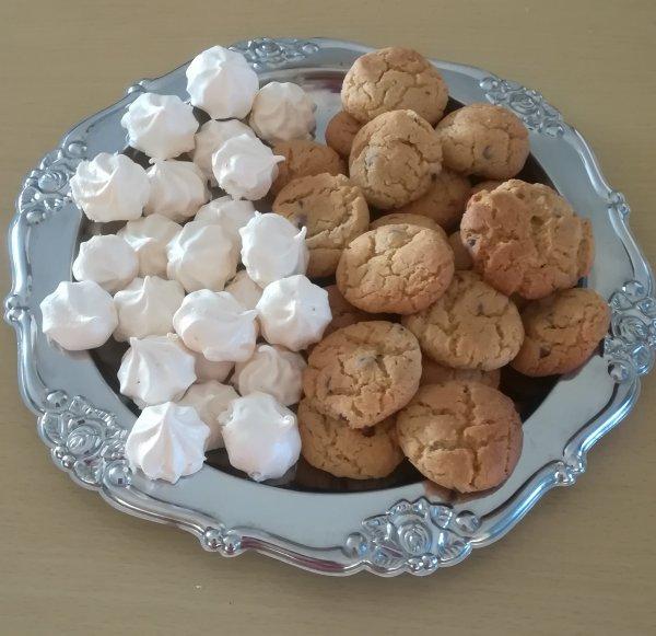 Cookies et meringue