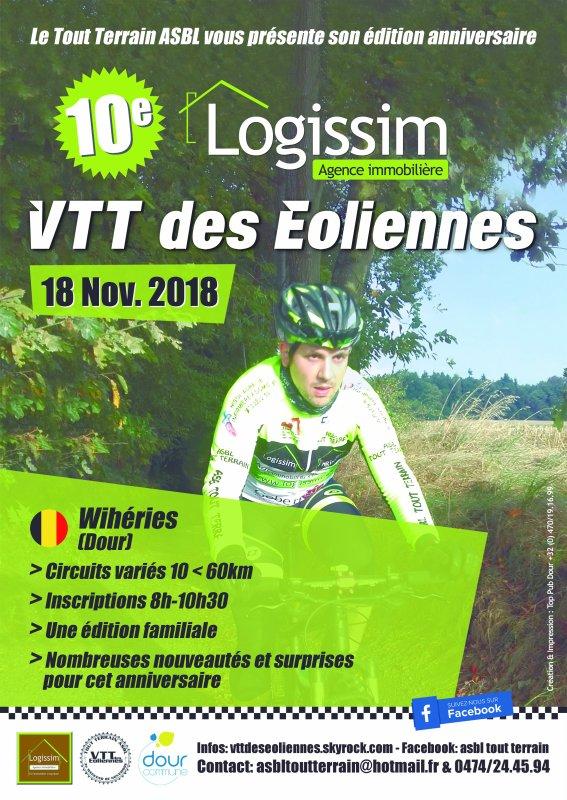 La LOGISSIM VTT des Eoliennes 2018