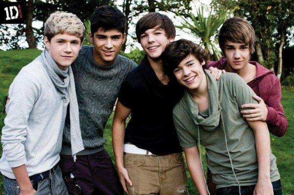 Les One Direction, bien plus qu'un groupe ma nouvelle RELIGION !!!