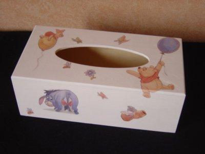 un boite à mouchoirs Winnie