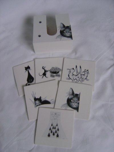 Dessous de verre chat DUBOUT