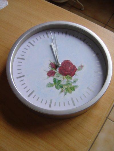 Horloge à la Rose