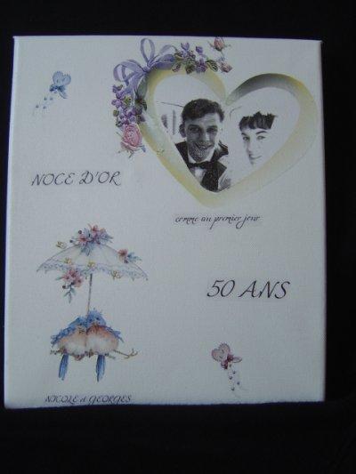 """PARTICIPATION """"50 ANS""""DE MARIAGE DES PARENTS DE SUNNY84"""