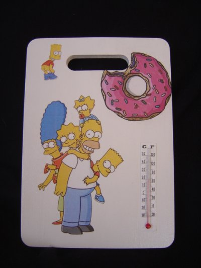 "THERMOMETRE ""LES SIMPSONS"""