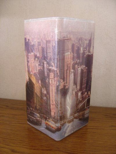"LAMPE ""BUILDING NEW YORK"""