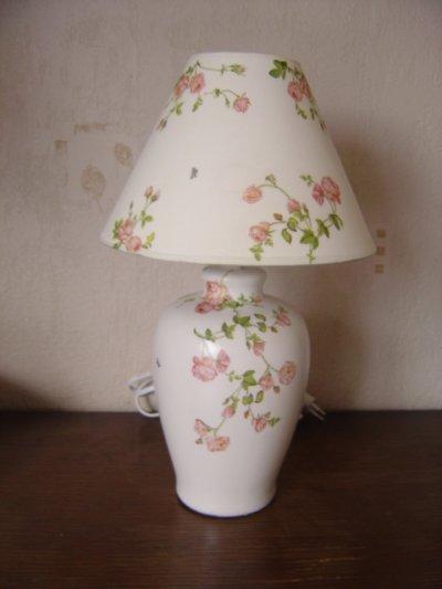 """LAMPE """"PETITES ROSES"""""""