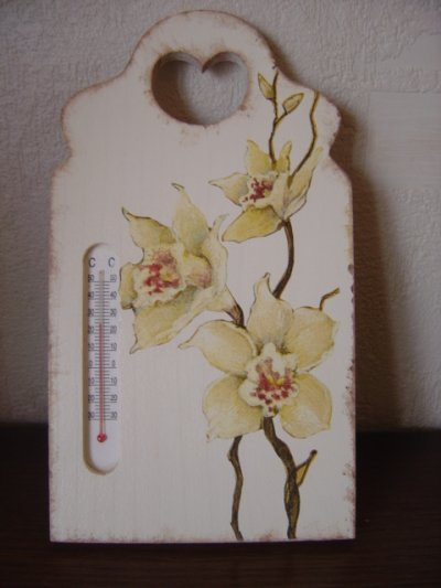 "THERMOMETRE ""ORCHIDEE"""