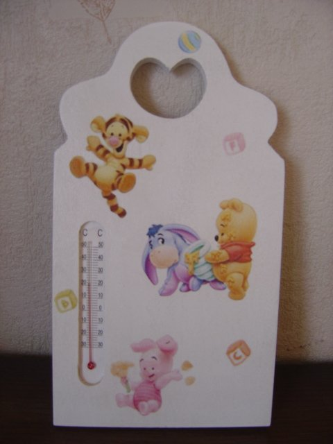 "THERMOMETRE ""WINNIE BABY ET SES AMIS"""