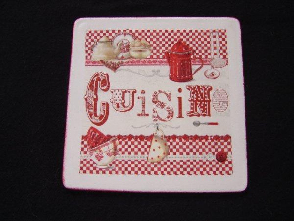 """DESSOUS DE PLAT """"CUISINE"""""""