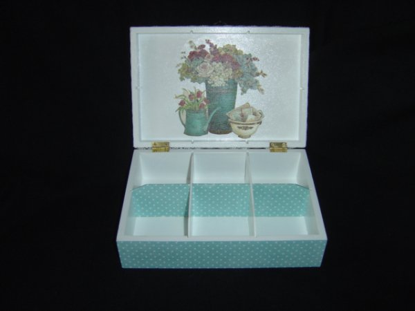 "COFFRET A THE OU A BIJOUX ""REVERIE"""