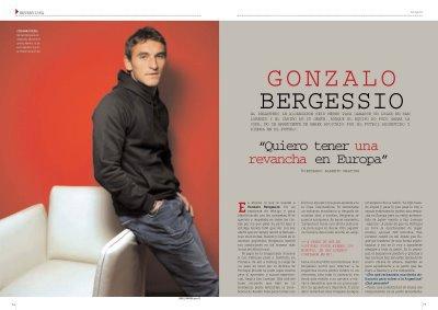 """Gonzalo Bergessio : """"J'aimerais avoir une revenche en Europe"""""""
