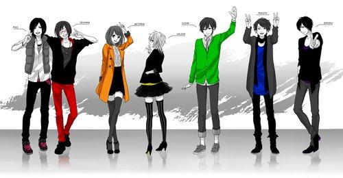 Le jeux des 10 personnages avec THE team
