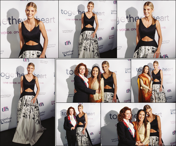 . • 01/10/18  —  Annalynne McCord était présente  au Gala : « Together1Heart 2018 » se déroulant à New York  !.
