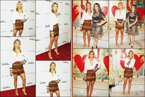 . • 12/07/18  — Annalynne était présente à la soirée de la galerie d'art : « Kings & Queens » dans Los Angeles !!.