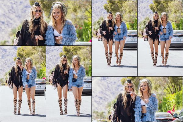 . • 12/04/19  —  Annalynne  et sa soeur sont allées au premier jour du festival « Coachella »  à Los Angeles - CA !.