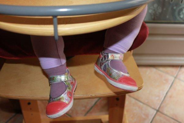 les premières chaussures d' Éloïse