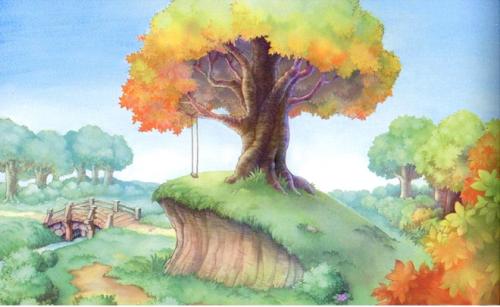 Forêt des Rêves bleus