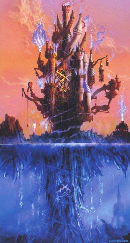 Mondes dans KH II : Forteresse Oubliée