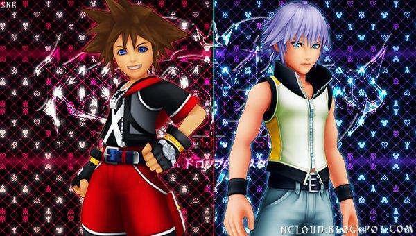 Sora et Riku dans le jeu
